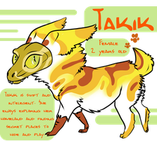 Takik - Reference Sheet by SchneckenBeckons