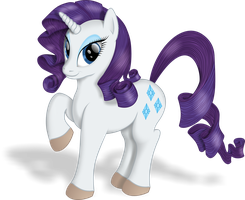 Lady Rarity by blueSpaceling