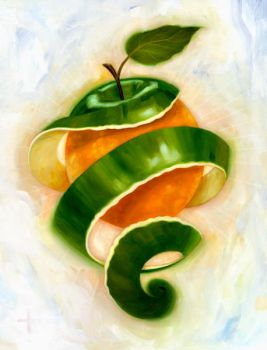 Apples and Oranges by carts