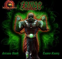 Ermac By Arcana by ArcanaHunkCamreKaenz