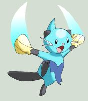 Dewott - Futachimaru by GreenGamerJ