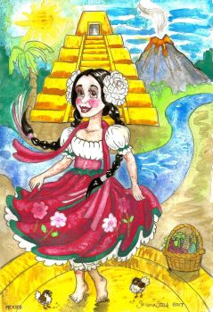 It's A Small World After All - MEXICO by ghostyheart