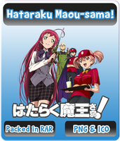 Hataraku Maou-sama! - Anime Icon by Rizmannf