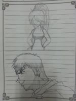 Great Teacher Onizuka sketch by ryuu-samazx