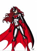 Batwoman... by CrimsonArtz