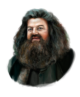 Rubeus Hagrid by AnnikeAndrews