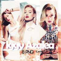 Iggy Azalea png pack by Quray