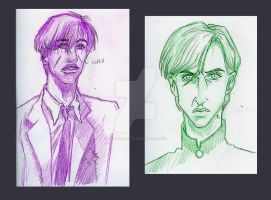 HP Doodles 2011 by AmberPalette