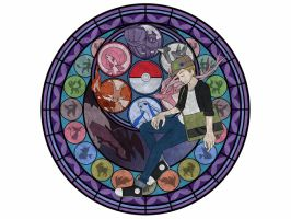 Pokemon Trainer Suncatcher by AnonymousAvox