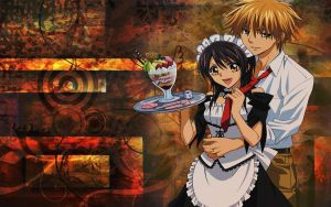 kaichou wa maid sama wallpaper by kielle27