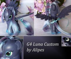 MLP G4 Luna custom by Alipes