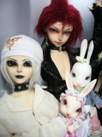 White Rabbit and Red...? 1 by koganemouche