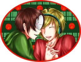 PewDieCry: Mistletoe by PrincePhantom