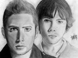 Winchesters by thiagofelipetxi