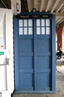 Stock - Tardis by OghamMoon