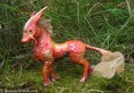 Unicorn Sculpture: Pet Kirin by SovaeArt