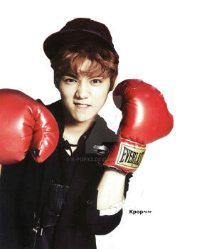 Exo Luhan  *RENDER* -2014- by K-popx3