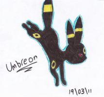 Umbreon by StarlightSketches
