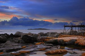 In the blue hour by steinliland