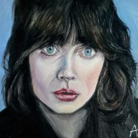 Zooey Deschanel by andytaylor756