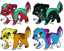 Puppy adopts - 15 points by Taunii