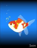 My Goldfish  can swim by chemical-idea