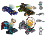 Ratchet and Clank: ACiT - Constructo Bomb Glove by o0DemonBoy0o