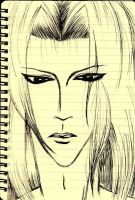 Sephiroth a la Train Journey by 191026