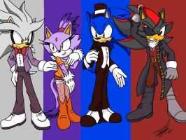 Five Night at Sonic's (best design) by IdalYaoiSonic1344