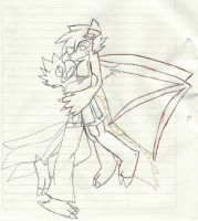 greyson and dracmis by falvin565