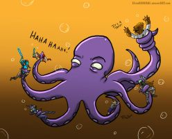 Clone Wars Octopus Troubles by ElTheGeneral
