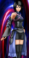 Aqua as Xion by zerolover23