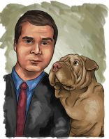 Me and my Dog by Benkner