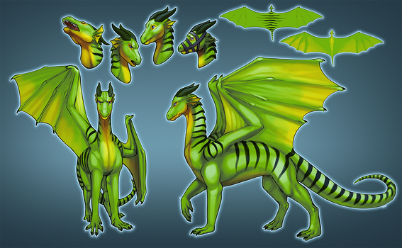 Adhara Reference for Hueroc by little-owlette