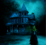 Haunted house by krazykel