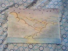 Tiny Sunset Painting Thing by manfartwish
