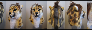 King Cheetah Mask Commission by sugarpoultry