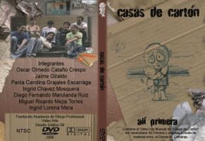 Estuche DVD - Casas de Carton by mirimetor
