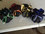 Hogwarts House Infinity Bags by Cosplay-Closet