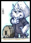 Sketch Card-A-Day 2013: 060 by lordmesa