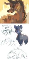 August Tumblr Doodles by OrcaOwl