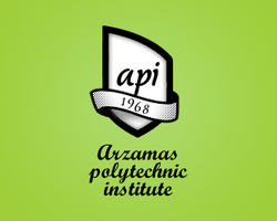 Arzamas poly. institute logo by maximbazhanov