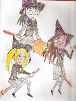 Witchlings by 8ClockworkPurple8