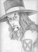 Rob Lucci by CosmicDebris