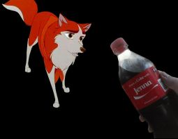 Share A Coke With Jenna... From Balto by Scamp4553
