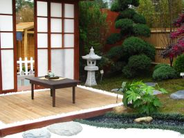Japanese Garden 02 by Ghost-Stock