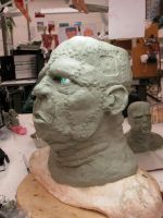 Frankenstein Mask - Angle 3 by chillier17