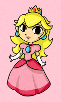 Wind Waker Princess Peach by ellenent