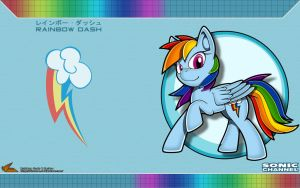 Sonic Channel '13: Rainbow Dash by Fuzon-S