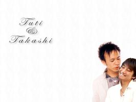 Tuti n Takashi wallpaper by atlantismonkey